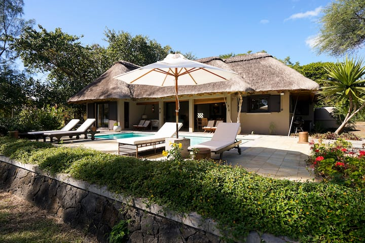 Villas Salines Beachfront villa with private pool