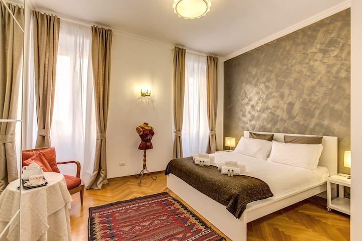 Entire apartment - A nest in Campo de'Fiori