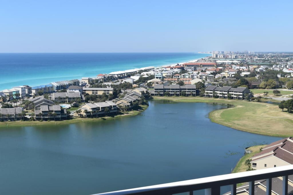 Beautiful Panoramic Gulf, Bay & Lake Views