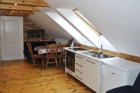 Two-bedroom apartment in the attic - Sarbinowo