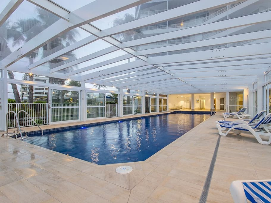 Heated Indoor 22 mtr Swimming Pool
