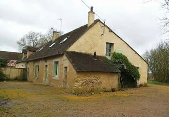 maison mitoyenne dans un village  du Saosnois. - Saosnes - Haus