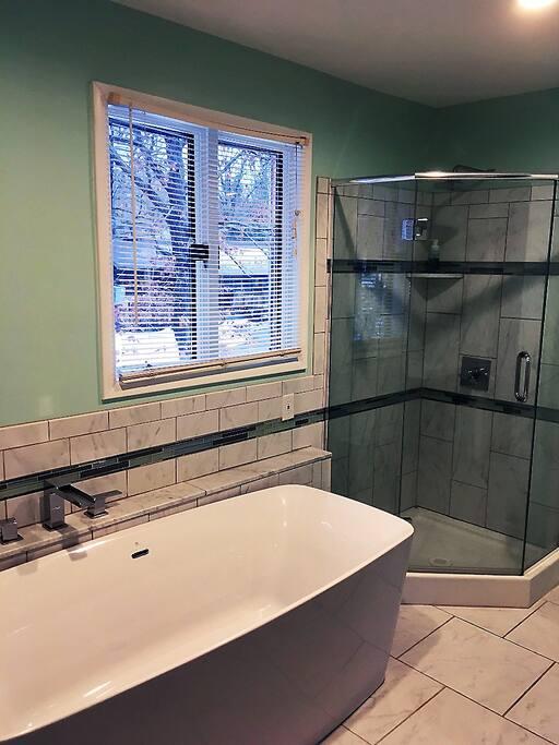 Master Bath - Modern Oasis