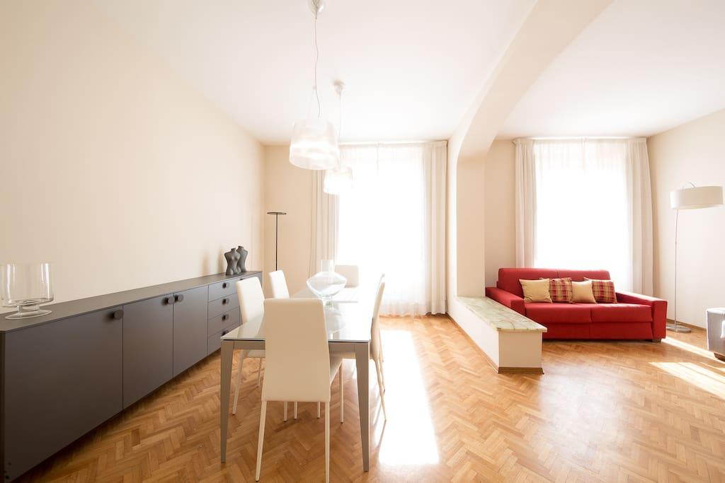 Spaciuos Living Room - Molto spazioso 100mq