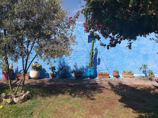 Maison charmante avec jardin proche de la plage