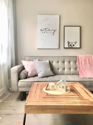 Cozy Quiet 2 Bedroom 2 Queen Bed Apartment