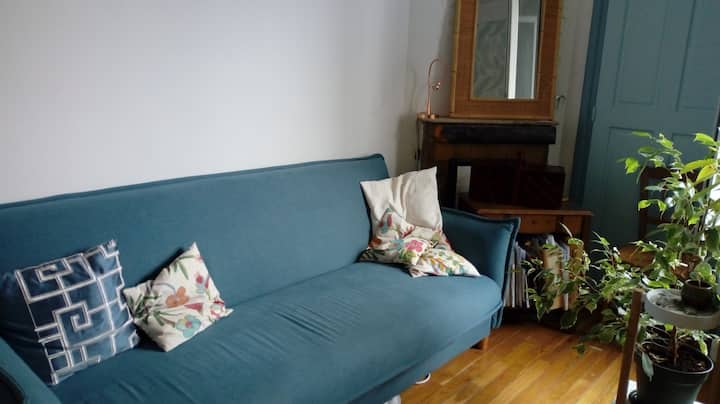Appartement 3-4 personnes Paris Buttes Chaumont
