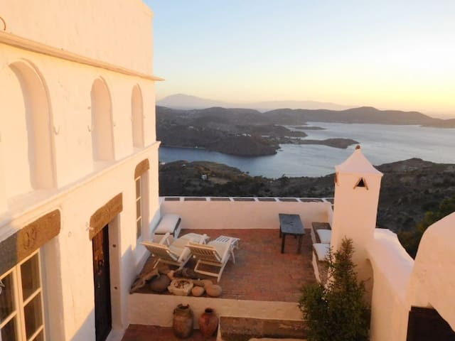 19th Century living in the heart of Chora- Patmos