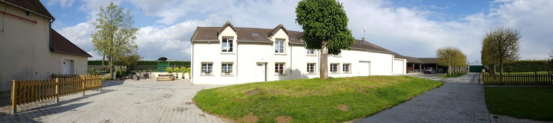 maison 400m2 à la campagne avec spa - Vieux-Champagne - Casa