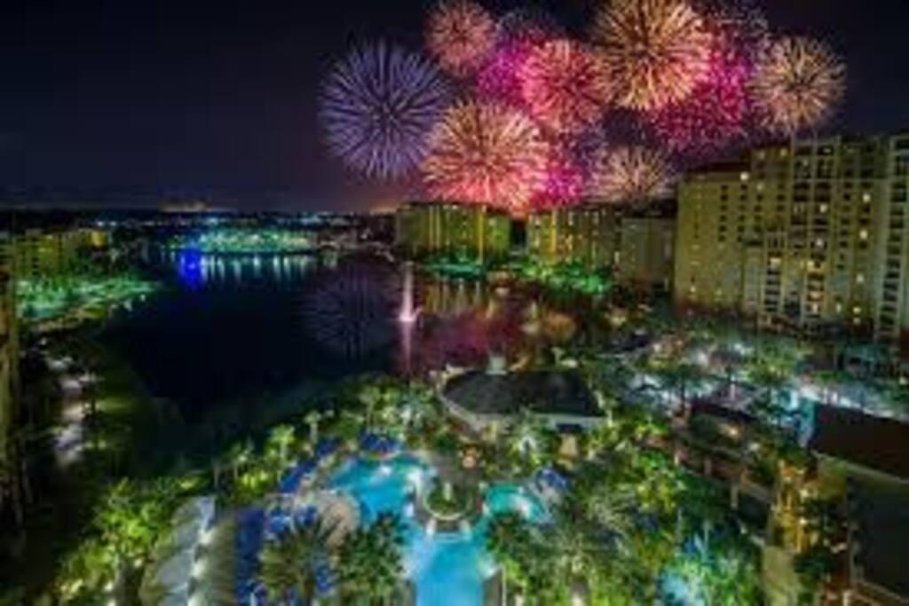 Disney Park Fireworks