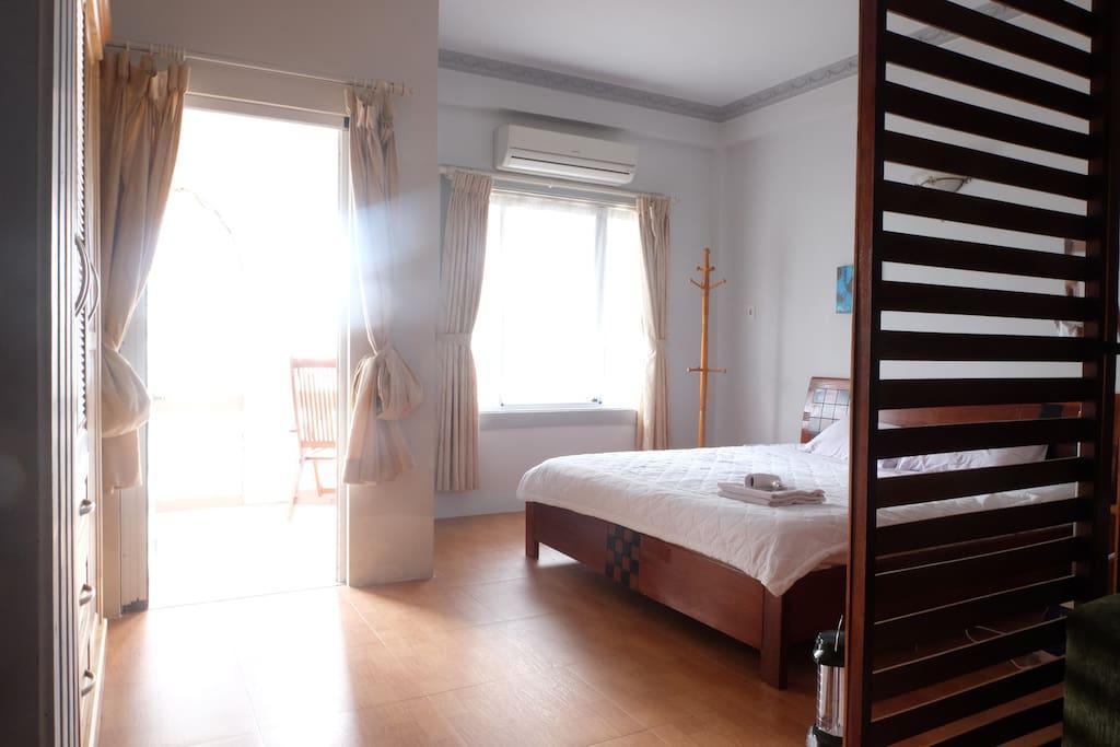 Bedroom Suite with Balcony