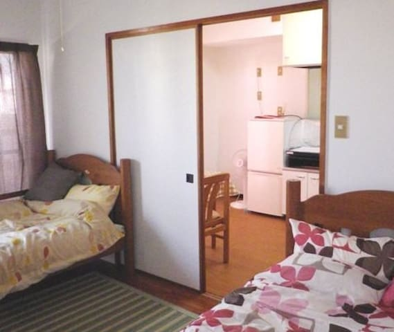 Nice accommodation in a quiet area,up to 3 persons - Naha-shi - Apartment
