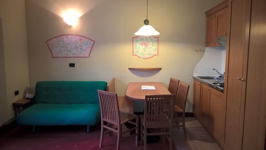 Bilocale per 4/5 persone in Recidence Palace - Ponte di legno - Apartamento
