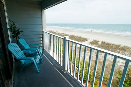 Beautiful Oceanfront Condo! Spring Special Book 6 Nights and the 7th is FREE - Surfside Beach - Villa