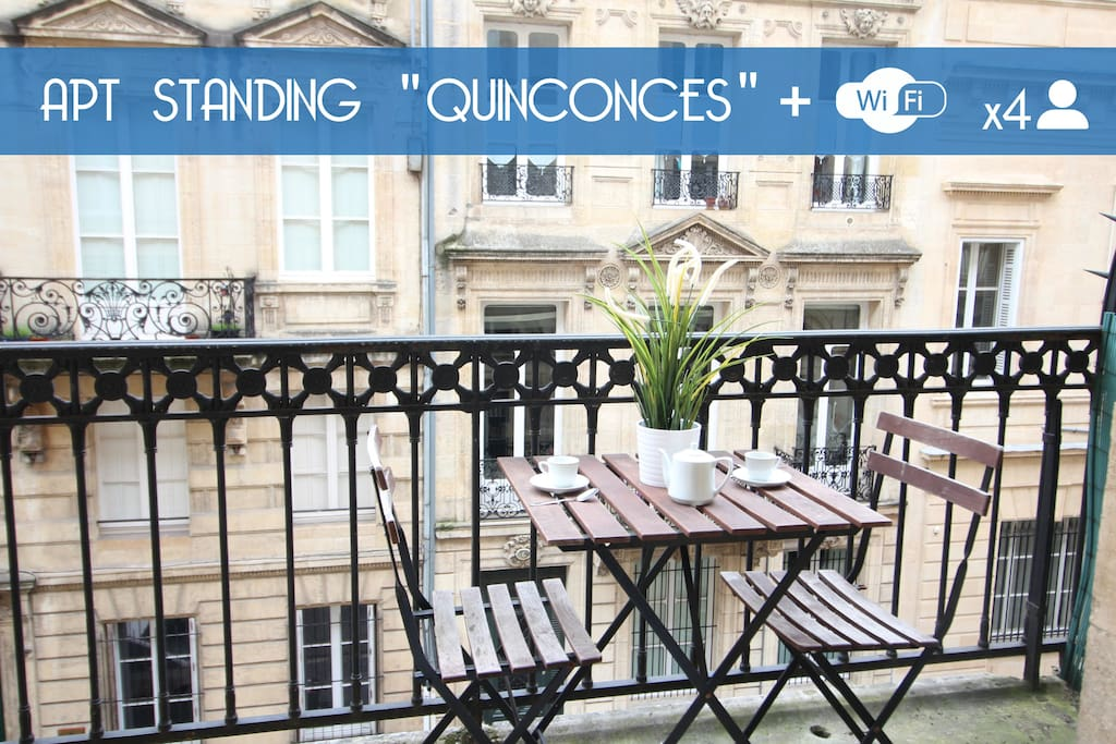 Best t2 place des quinconces appartements louer for Appartement t2 bordeaux location