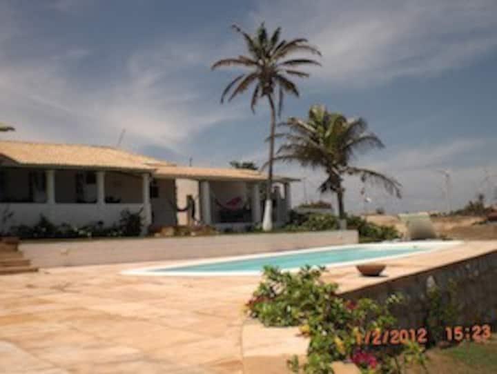 Villa Du Vento, Casa de Praia Frente Mar