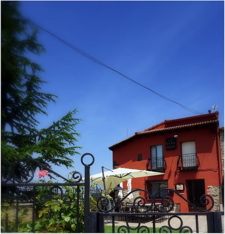 Una casa con vistas en Abejar