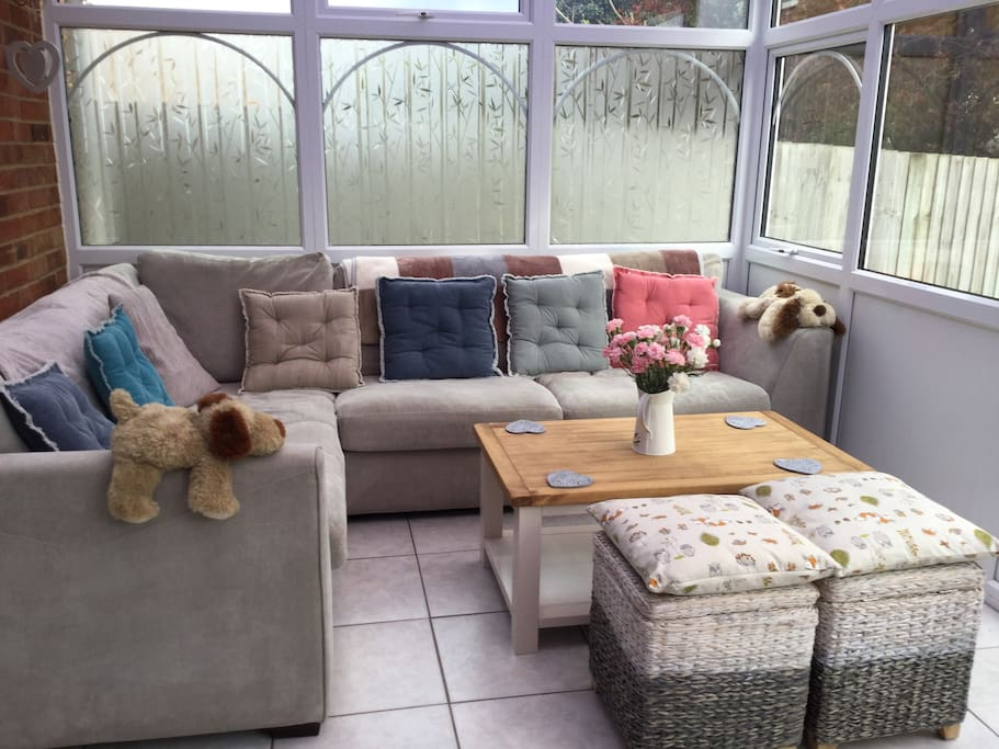 Conservatory sitting area