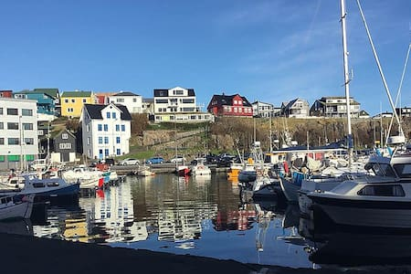 A harbour house with a wonderful view