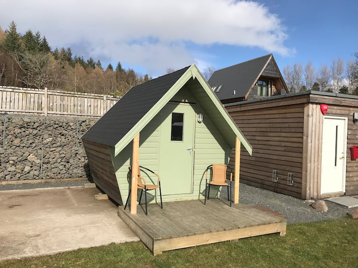 Glamping Pod A Balmaha Lodges (Pet Friendly)