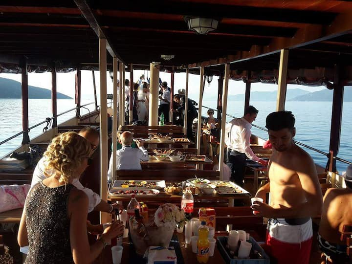 restaurant on  first deck
