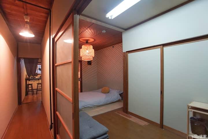 町家☆Cozy Old House6LDK☆Near Namba ZY-1