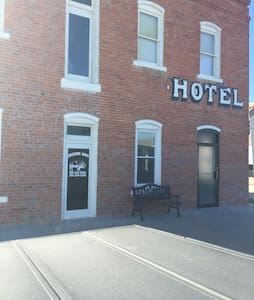 Historic Hotel built in 1888 - McDonald
