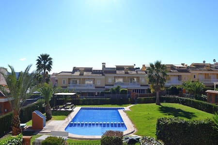Nice family holiday home with pool - Alfaz del Pi