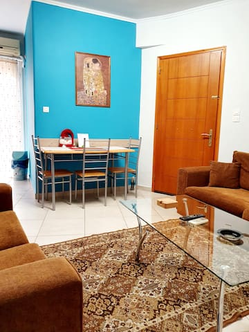 Patra central apartment, 45 m2.