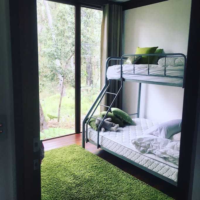 Two x double bunk rooms available