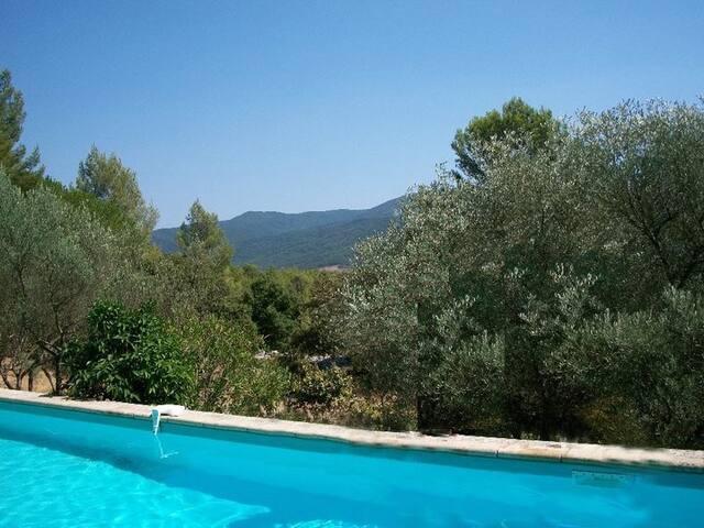 Maison 5 pers forêt vignes piscine - Pignans - House