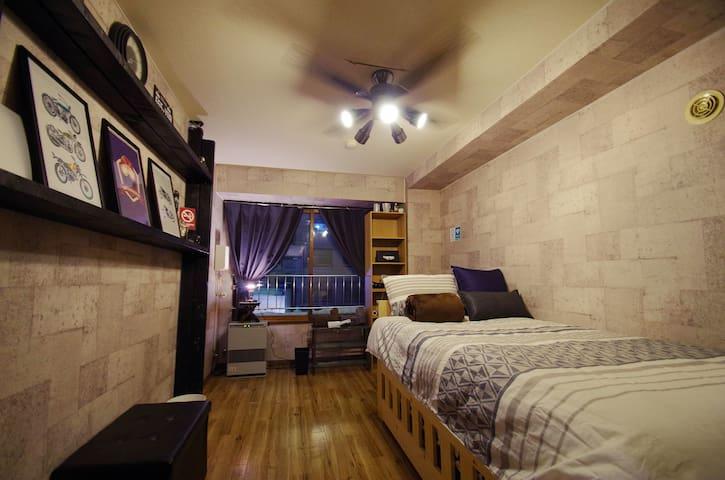 [K45]Cool & Stylish Room. Kotoni subway 1min!