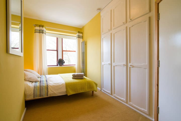 Bedroom 6 2nd Floor  Double bed, fitted wardrobes, chest of drawers