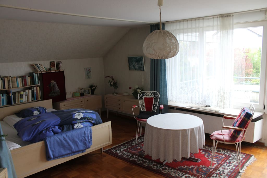 Zimmer mit Balkon - room with balcony