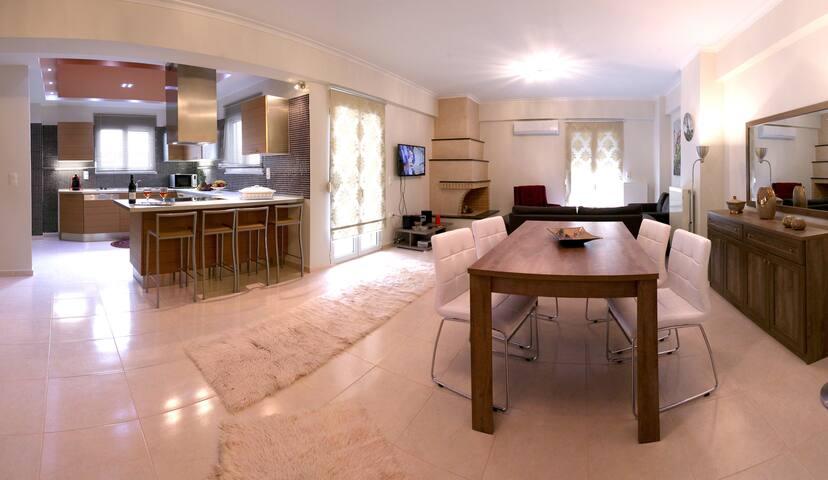 Elena & Pelagia Luxury Apartment In Rethymno Town - Rethymno - Apartament