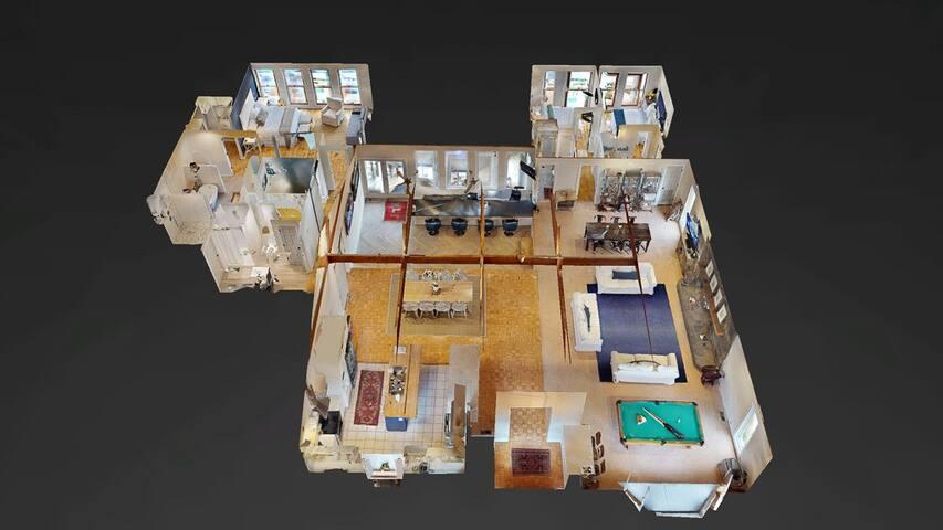 main house layout