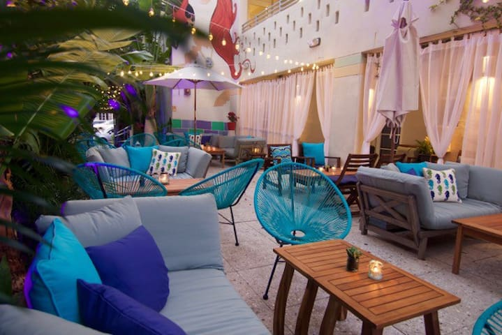 SPLENDIDE STUDIO FURNISHED IN BOUTIQUE HOTEL - Miami Beach - Bed & Breakfast