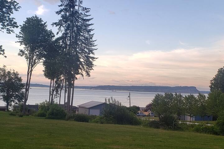 Serenity in the cedars with a Puget Sound view!