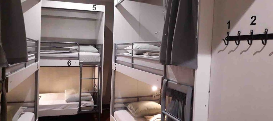 Comfortable Shared Romm * Royal City Hostel Bed 4