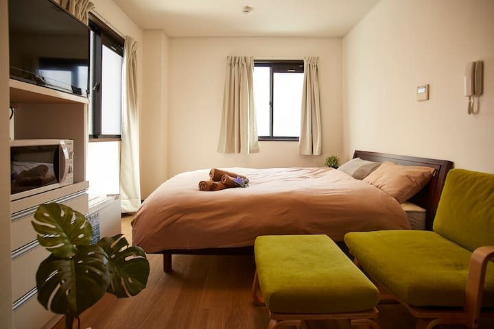 ★SALE★10 min walk from Umeda&Osaka/ Free Wi-Fi/B