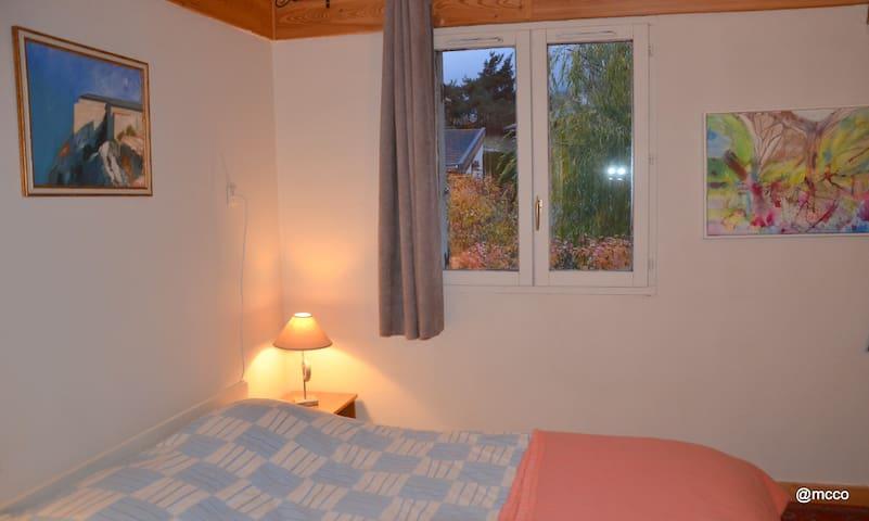 Chambre à louer dans maison de 160m2 - Villarodin-Bourget - 一軒家