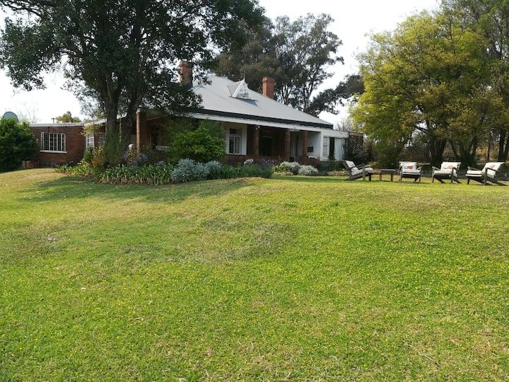 Glenside, an historic Drakensberg farmhouse