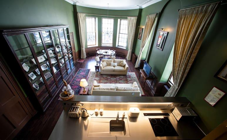 Beautiful Large Apartment sleeps 7 near St Andrews