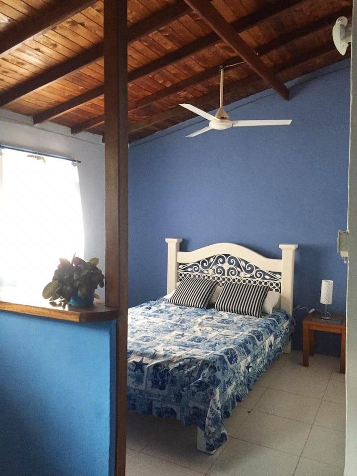 Tropical Cabaña/House -Blue