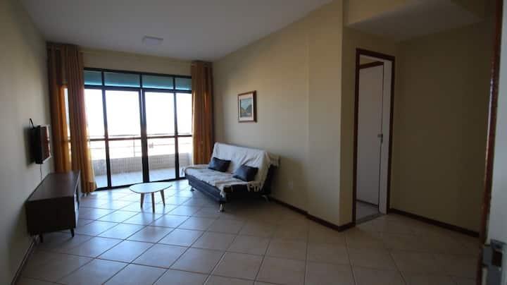 Apartamento excelente c suite 500m da orla e praia