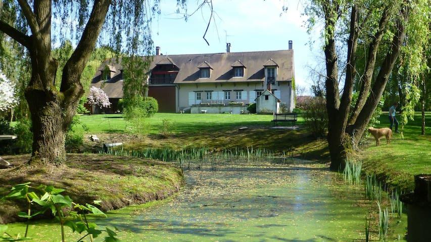 Burgund Ferienwohnung Nähe Beaune u Chalon s/Saône - Pontoux - Apartment