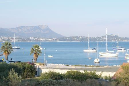 T1 avec sa terrasse proche de la mer et un parking - Saint-Mandrier-sur-Mer - Inny