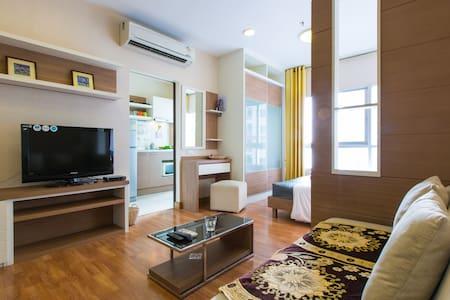 RiverViewSuite19+AppleTV Netflix+ - Bangkok