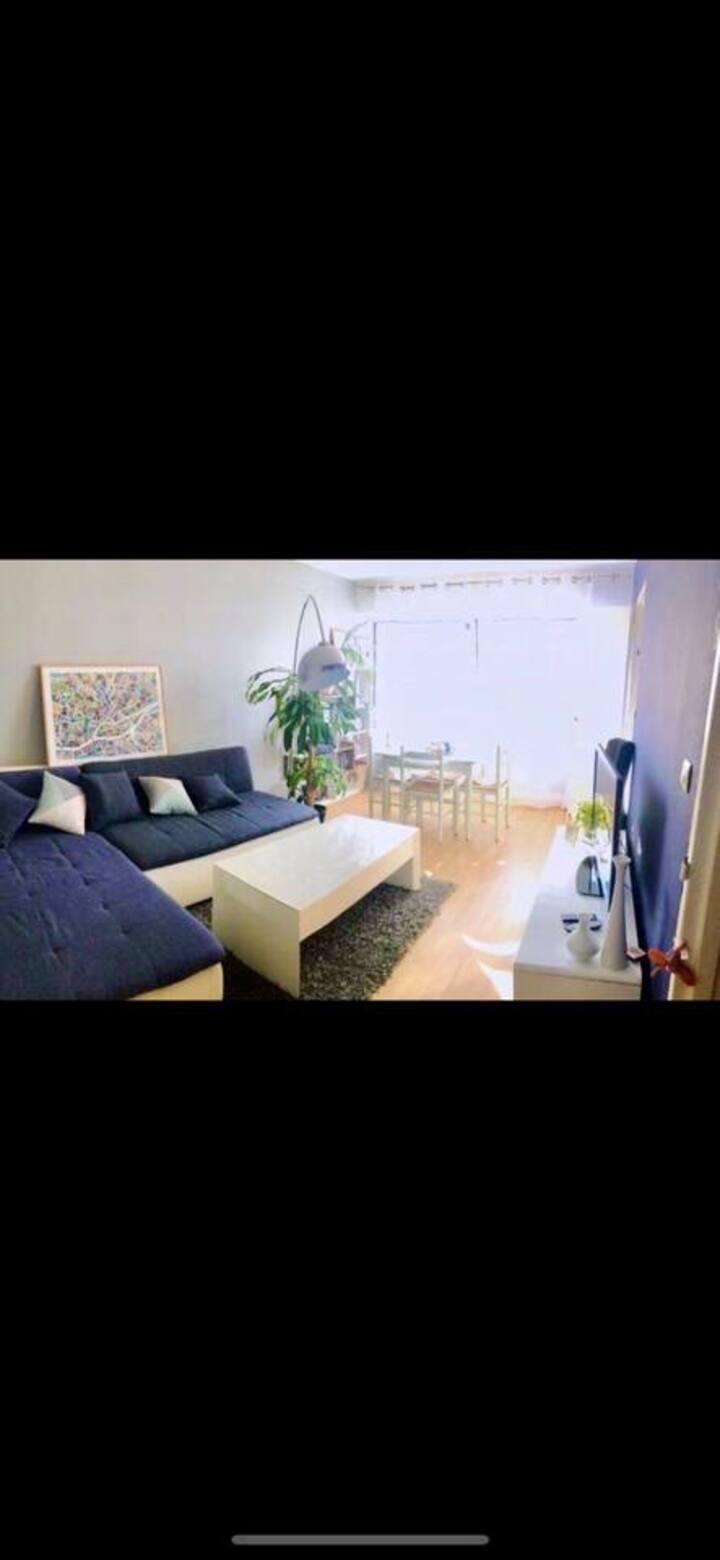 Chambre double lumineuse