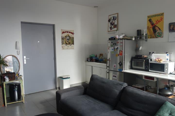 Appartement partagé - Lyon-8E-Arrondissement - Appartement